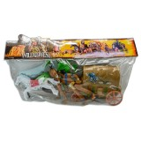 Juego de cowboys Wild the Best West en bolsa pvc